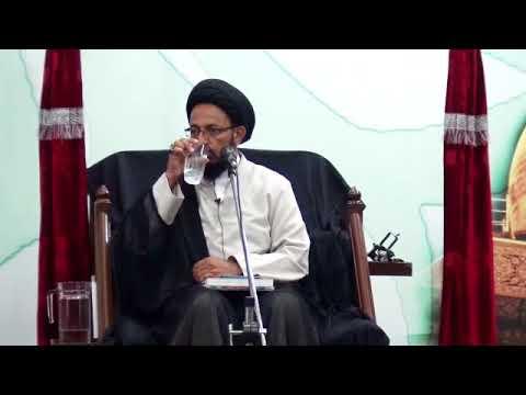 [04] Topic: عزاداری اور عصری تقاضے | H.I Sadiq Raza Taqvi - Muharram 1439/2017 - Urdu