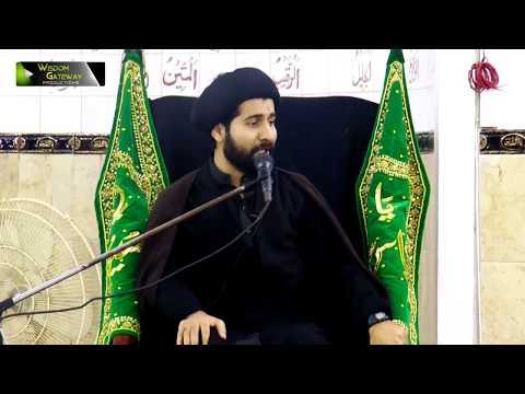 [2] Topic: معرفت امام اور ہمارا طرز زندگی | Moulana Arif Shah Kazmi | Safar 1439/2017 - Urdu