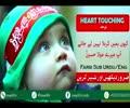 [Noha] کیوں ہمیں کربلا نہیں لے جاتے آپ میرے مولا حسین - Farsi Sub Urdu