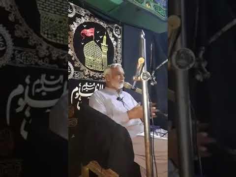 [Chehlum Speech] Engr Syed Hussain Moosavi at KNShah - Sindhi