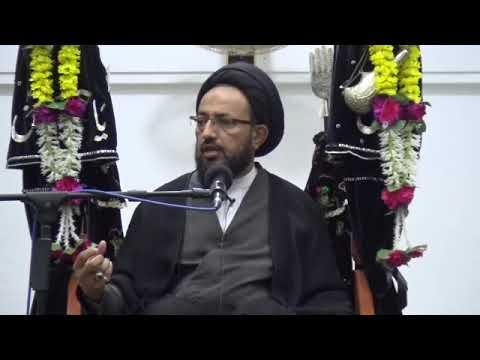 [Majlis] Topic: Tarbiyate Aulaad - تربیت اولاد | H.I Sadiq Raza Taqvi | Muharram 1439/2017 - Urdu