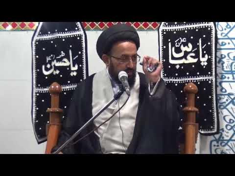 [1] Topic: Ghurbat-e-AhleBait (as) غربت اہلبیتؑ | H.I Sadiq Raza Taqvi | Safar 1439/2017 - Urdu
