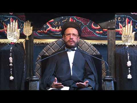 11 Majlis Ashra-E-Zainabiyyah Safar 1439 Hijari 2017 Topic: Insight بصیرت By Allama Syed Mohammad Zaki Baqri - Urdu