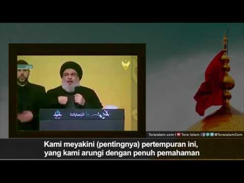 [Clip] Kita Takkan Mundur   Sayyid Hasan Nasrullah - Arabic sub Malay