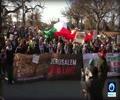 [17 December 2017] Video_ Pro-Palestine activists rally near White House in Washington - English