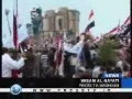 Iraqis hold protest rallies to mark Baghdads fall anniversary - 09Apr09 - English
