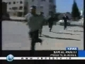 Israeli settlers raid West Bank village - Injure 15 Palestinians - 08Apr09 - English