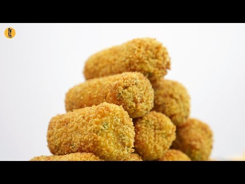 Quick Recipe - Spicy Fish Croquettes Recipe - English Urdu