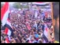 Iraqis chanting slogans against US in Baghdad - 09Apr09 - Arabic