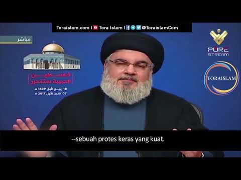 [Clip] Gunakan Media Sosial untuk Melawan Israel | Sayyid Hasan Nasrallah - Arabic sub Malay