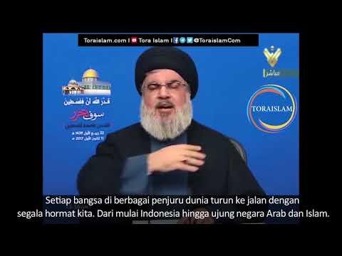 [Clip] Takdir Allah Palestina akan Merdeka (bag.3) | Sayyid Hasan Nasrallah - Arabic sub Malay