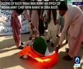 [16 January 2018] Pakistanis denounce Indian army chief's nuclear comment, burn his effigy - English