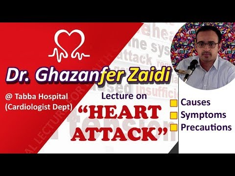 Save from Heart Attack | Dr Ghazanffar Zaidi - Urdu