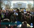 [28 January 2018] Muslims denounce Trump travel ban with mass prayer outside White House - English