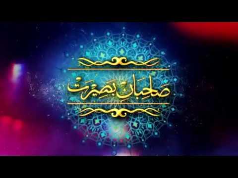 Talkshow : Sahibaan-e-Baseerat - Shaheed Dr Muhammad Ali Naqvi - Urdu