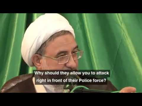 The Sherazi Sect is biggest threat, explained by Ayatollah Mohsen Araki [Farsi sub English]