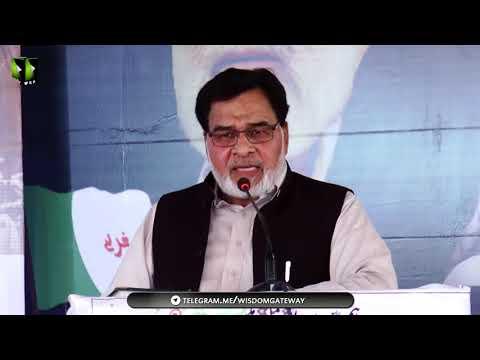 [Wilayat-e-Haq Convention 2018] Speech: Janab Razi Ul Abbas Shamsi | Asgharia Org. Pak - Sindhi