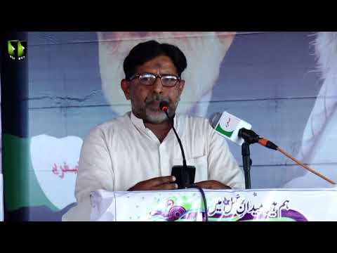 [Wilayat-e-Haq Convention 2018] یوم یعسوب الدین | Manqabat: Janab Mazhar Hussain |Asgharia Org. Pak - Urdu