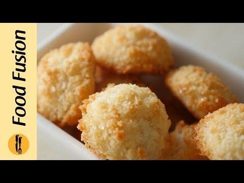 [Quick Recipes] Coconut Macaroons - English Urdu