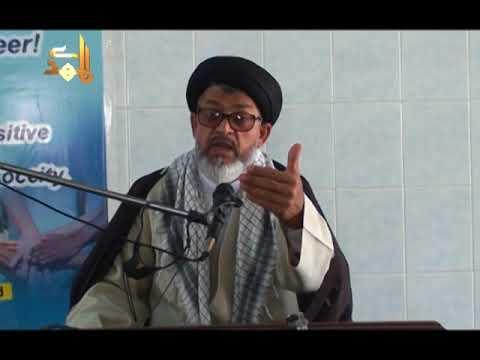 Terbiyat Ka Taqaza 25th March 2018 By H.I Razi Haider Zaidi at Masjid O Imambargah Imamia Jaffar-e-Tayyar Society Malir