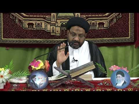 [03] Tafseer-e-Surah-e-Aal-e-Imran | 3rd Mahe Ramadhan 1439 A.H | Moulana Syed Taqi Raza Abedi - Urdu