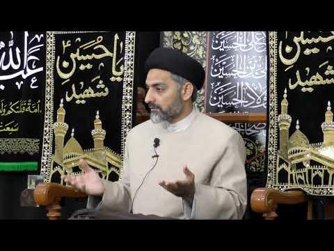 [5th Majlis, Ramadan 1439] Topic:Waiting for Imam (ATFS) and US Maulana Nusrat Abbas Bukhari Muscat Oman 2018 Ur