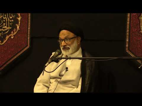 [01] - Purpose of the mission of Imam Hussain (as) By Molana Syed Muhammad  Askari - Urdu
