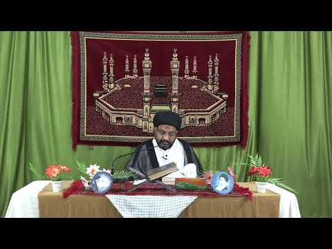 [08] Tafseer-e-Surah-e-Aal-e-Imran | 8th Mahe Ramadhan 1439 A.H | Moulana Syed Taqi Raza Abedi - Urdu
