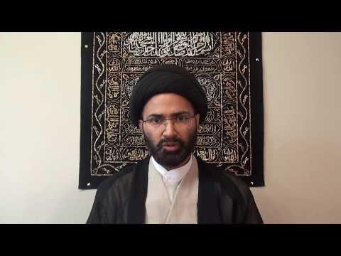 Fiqhi Masail 3: Rules of Suhoor & Iftar. Moulana Syed Hadi Hassan Calgary Canada - Urdu