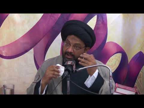 [07] Sifaat-e-Muttaqeen | 16th Mahe Ramadhan 1439 A.H | Moulana Syed Taqi Raza Abedi - Urdu