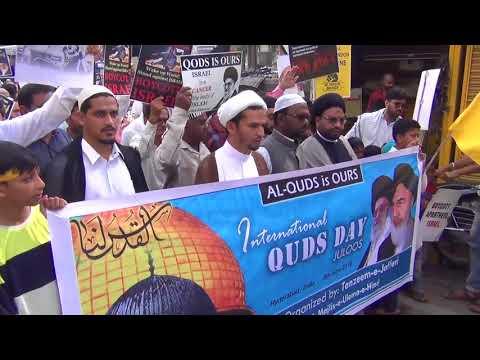 International Quds Day Rally 2018   Hyderanad - India