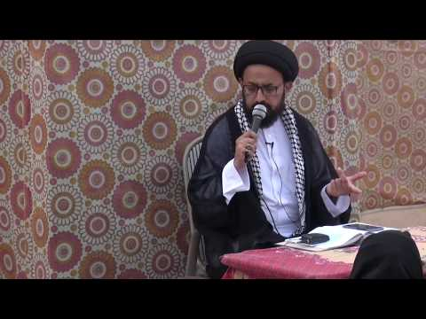 [Speech] Topic: Tehrefaat -e- Ashura - تحریفاتِ عاشورا  | H.I  Sadiq Raza Taqvi - Urdu