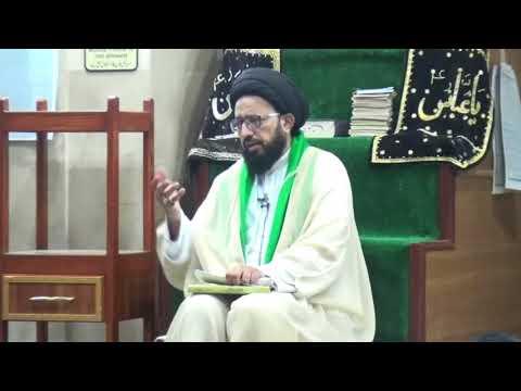 [Lecture] Topic: 14 Shabaan Or Imam Se Ahad o Paymaan k Taqazay | H.I Syed Sadiq Raza Taqvi - Urdu