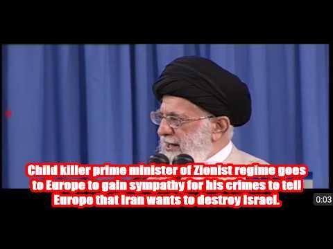 EU slave of Zionist Israel. - Farsi sub English