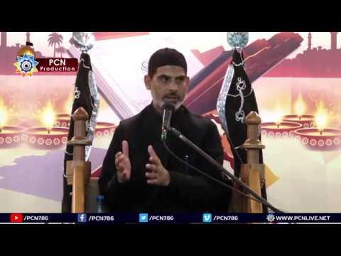 Majlis e Aza 18 Ramzan 1439/2018 Shahadat e Imam Ali(ASWS) Topic:Wilayat e Haq aur Wilayat e Baatil By H I Mubas