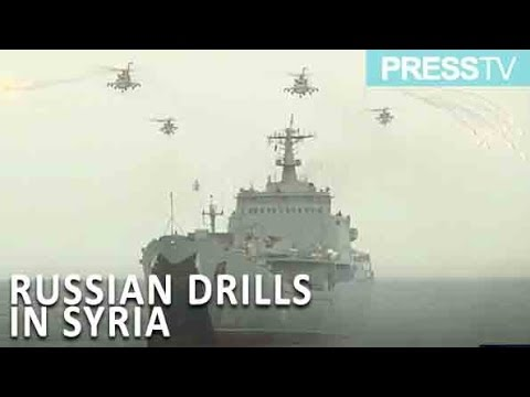 [9 September 2018] Russian navy infantry shows landing skills on Syria\'s Latakia\'s coast - English