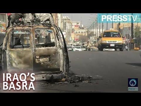 [9 September 2018] Basra calm after day of violent protests - English