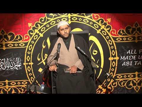 Sheikh Murtaza Bachoo - Eve 1st Muharram 1440 Stanmore -  10/09/2018 English