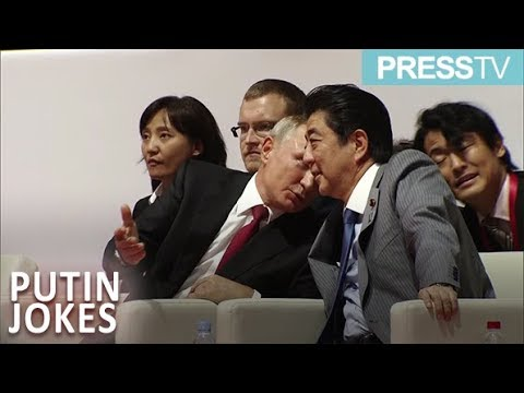 [12 September 2018] Putin and Abe share joke during judo competition - English