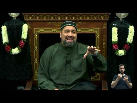 [04. Majlis] Topic: Illumination of The Inner Light - Syed Asad Jafri Muharram 1440 2018 Toronto Canada English