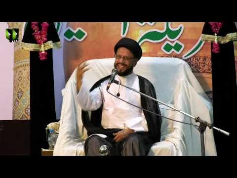 [03] Topic: اسلامی تعلیمات بمقابلہ سیکولرزم | H.I Syed Zaki Baqri | Muharram 1440 - Urdu