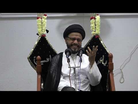 1440 AH - Muharram - 02 - Shab - Maulana Zaki Baqri (w/o Sign Language)