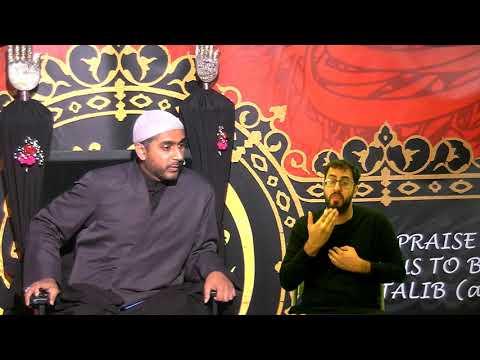 [Eve 6th Muharram 1440] Topic: Faith And Community In A Changing World |  Sheikh Murtaza Bachoo | 15/09/2018 Stanmore U
