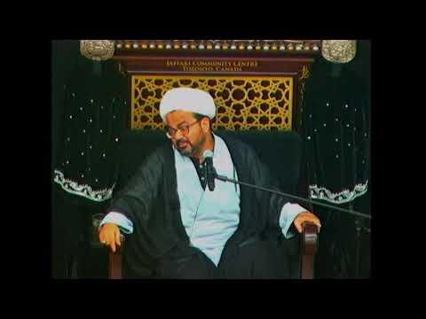 [07. Majlis]Topic: Khususiyat e Islam - Maulana Muhammad Raza Dawoodani Muharram 1440 2018 Toronto Canada Urdu