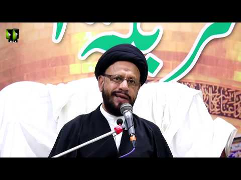 [04] Topic: اسلامی تعلیمات بمقابلہ سیکولرزم | H.I Syed Zaki Baqri | Muharram 1440 - Urdu