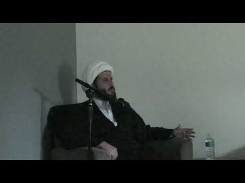 Muharram 1440 Night 4 - H.I. Sheikh Hamza Sodagar - Zainab Center Seattle WA - English