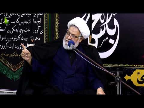 [09] Topic: تجلی امامت اور کربلا  | H.I Ghulam Abbas Raesi | Muharram 1440 - Urdu