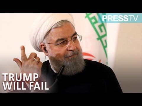 [22 September 2018] Rouhani: Trump will fail against Iranian nation - English