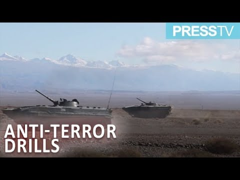 [27 Sept. 2018] Russian and Kyrgyz troops hold joint anti-terror drills - English