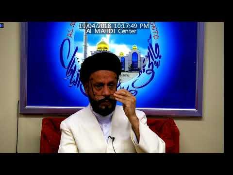 Jashan e Wiladat Imam Hussain A.S Topic:نصرتِ اللہ By Allama Syed Mohammad Zaki Baqri at Al Mahdi - Urdu